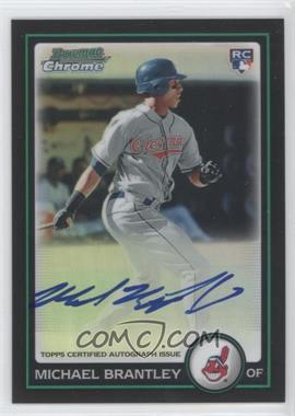 2010 Bowman Chrome Rookie Autographs Refractor #217 - Michael Brantley /500