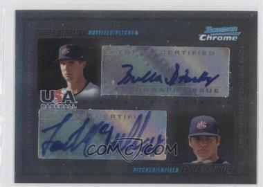 2010 Bowman Chrome USA Dual Autographs #USADA-1 - Bubba Starling, Lance McCullers /500