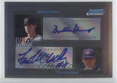2010 Bowman Chrome USA Dual Autographs #USADA-1 - [Missing] /500