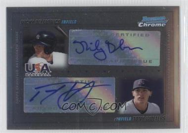 2010 Bowman Chrome USA Dual Autographs #USADA-3 - Tony Wolters, Nick Derba /500