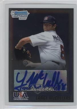 2010 Bowman Chrome USA Stars Autographs [Autographed] #USA-LM - Lance McCullers