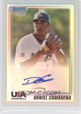 2010 Bowman Chrome USA Stars Refractors Autographs [Autographed] #USA-DC - Daniel Camarena /199