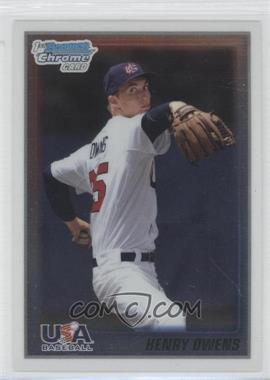 2010 Bowman Chrome USA Stars #USA-12 - Henry Owens