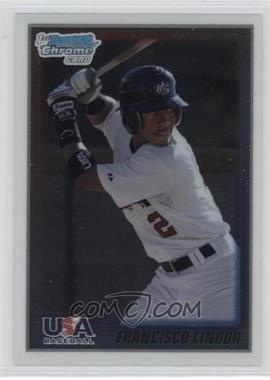 2010 Bowman Chrome USA Stars #USA-5 - Francisco Lindor