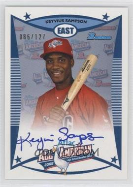 2010 Bowman Draft Picks & Prospects - Aflac All-American Certified Autographs #AFLAC-KS - Keyvius Sampson /127