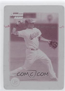 2010 Bowman Draft Picks & Prospects - Draft Picks - Printing Plate Magenta #BDPP54 - Tony Thompson /1