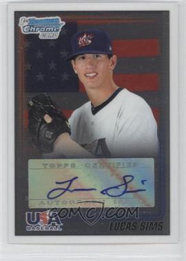 2010 Bowman Draft Picks & Prospects - USA Team Certified Autograph - [Autographed] #USAA-19 - Lucas Sims