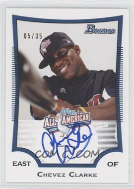 2010 Bowman Draft Picks & Prospects Aflac All-American Certified Autographs #AFLAC-CC - Chevez Clarke /35