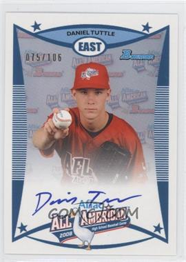 2010 Bowman Draft Picks & Prospects Aflac All-American Certified Autographs #AFLAC-DTU - Dan Tuttle /106