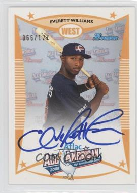 2010 Bowman Draft Picks & Prospects Aflac All-American Certified Autographs #AFLAC-EW - Everett Williams /127
