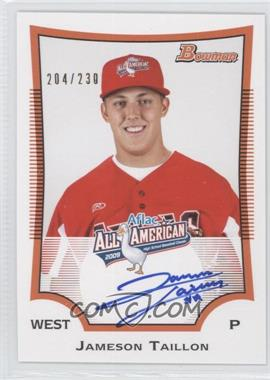 2010 Bowman Draft Picks & Prospects Aflac All-American Certified Autographs #AFLAC-JT - Jack Taschner /230
