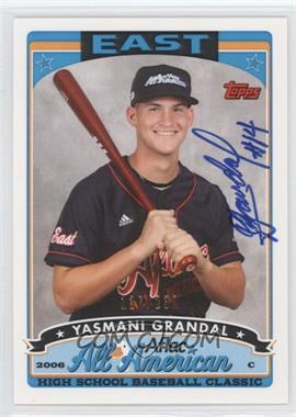 2010 Bowman Draft Picks & Prospects Aflac All-American Certified Autographs #AFLAC-YG - Yasmani Grandal /230