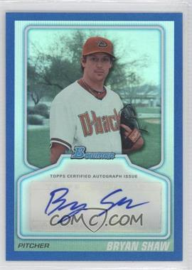 2010 Bowman Draft Picks & Prospects Certified Autographs Blue #BPA-BS - Bryan Shaw /199