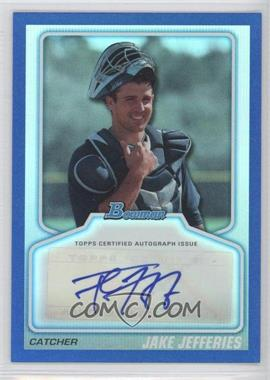 2010 Bowman Draft Picks & Prospects Certified Autographs Blue #BPA-JJ - Jacob Jefferies /199