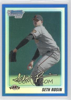 2010 Bowman Draft Picks & Prospects Chrome Draft Picks Blue Refractor #BDPP55 - Sergio Romo /199