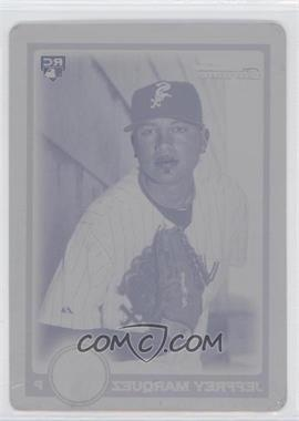 2010 Bowman Draft Picks & Prospects Chrome Draft Picks Printing Plate Magenta #BDP52 - Jeffrey Marquez /1