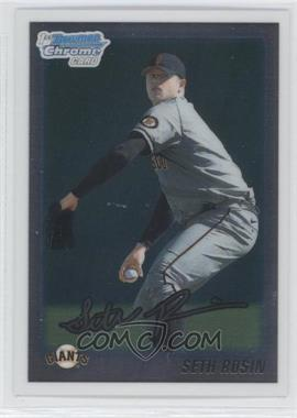 2010 Bowman Draft Picks & Prospects Chrome Draft Picks #BDPP55 - Seth Rosin
