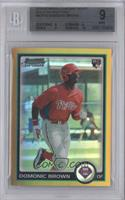 Domonic Brown /50 [BGS 9]