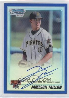 2010 Bowman Draft Picks & Prospects Chrome Prospects Certified Autographs Blue Refractor [Autographed] #BDPP79 - Jameson Taillon /150