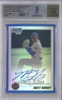 Matt Harvey /150 [BGS 9]