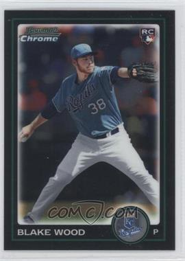 2010 Bowman Draft Picks & Prospects Chrome #BDP80 - Blake Wood