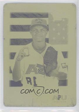 2010 Bowman Draft Picks & Prospects Draft Picks Printing Plate Yellow #BDPP93 - Sean Brady /1