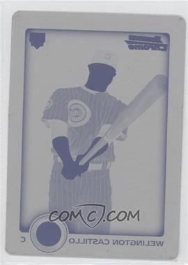 2010 Bowman Draft Picks & Prospects Printing Plate Yellow #BDP36 - Welington Castillo /1