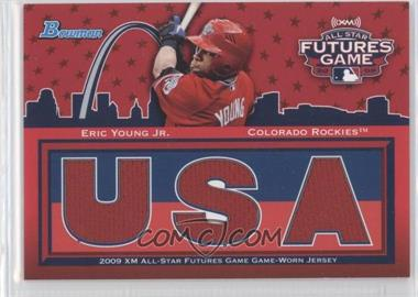 2010 Bowman Future's Game Triple Relics #FG-EY - Eric Young /99