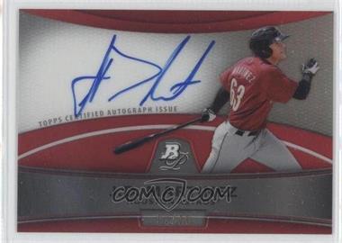 2010 Bowman Platinum - Chrome Autograph Refractor - Red #BPA-JDM - J.D. Martinez /10