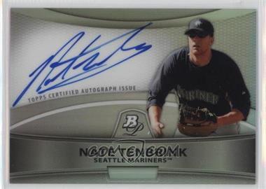2010 Bowman Platinum - Chrome Autograph Refractor #BPA-NT - Nate Tenbrink
