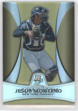 2010 Bowman Platinum - Prospects Chrome - Gold Refractor #PP4 - Jesus Montero /539