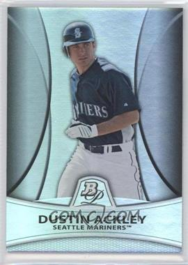 2010 Bowman Platinum - Prospects Chrome - Thick Stock Refractor #PP6 - Dustin Ackley /999