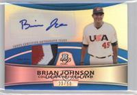 Brian Johnson /50