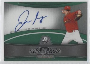 2010 Bowman Platinum Chrome Autograph Green Refractor #BPA-JK - Joe Kelly /199
