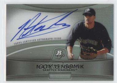 2010 Bowman Platinum Chrome Autograph Refractor [Autographed] #BPA-NT - Nate Tenbrink