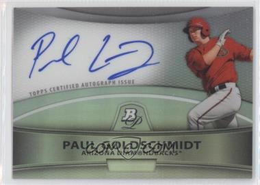 2010 Bowman Platinum Chrome Autograph Refractor [Autographed] #BPA-PG - Paul Goldschmidt