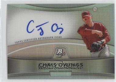 2010 Bowman Platinum Chrome Autograph Refractor #BPA-CO - Chris Owings