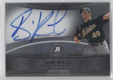 2010 Bowman Platinum Chrome Autograph Refractor #BPA-IK - Ian Krol