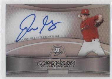 2010 Bowman Platinum Chrome Autograph Refractor #BPA-JK - Joe Kelly