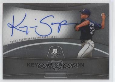 2010 Bowman Platinum Chrome Autograph Refractor #BPA-KSA - Keyvius Sampson