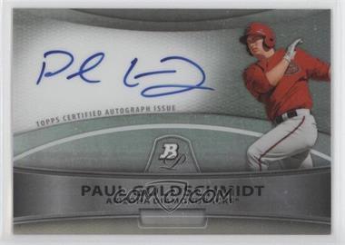 2010 Bowman Platinum Chrome Autograph Refractor #BPA-PG - Paul Goldschmidt