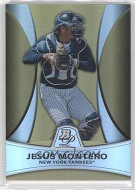 2010 Bowman Platinum Chrome Prospects Gold Refractor #PP4 - Jesus Montero /539