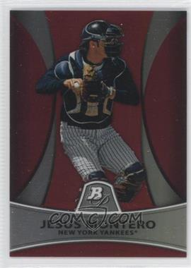 2010 Bowman Platinum Chrome Prospects Red Refractor #PP4 - Jesus Montero /25