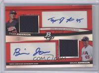 Tyler Anderson, Brandon Jones, Brian Johnson /10