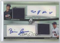 Tyler Anderson, Brandon Jones, Brian Johnson /99
