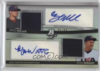 Brad Mills, Ryan Wright, Brad Miller /99