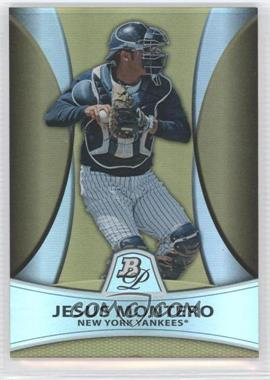 2010 Bowman Platinum Prospects Chrome Gold Refractor #PP4 - Jesus Montero /539