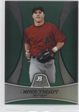 2010 Bowman Platinum Prospects Chrome Green Refractor #PP5 - Mike Trout /499