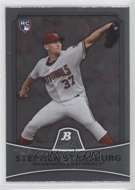2010 Bowman Platinum #1 - Stephen Strasburg