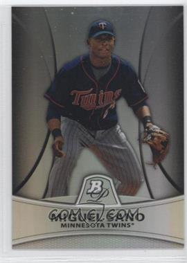 2010 Bowman Retail Chrome Prospects Thin Stock Refractor #PP28 - Miguel Sano /999